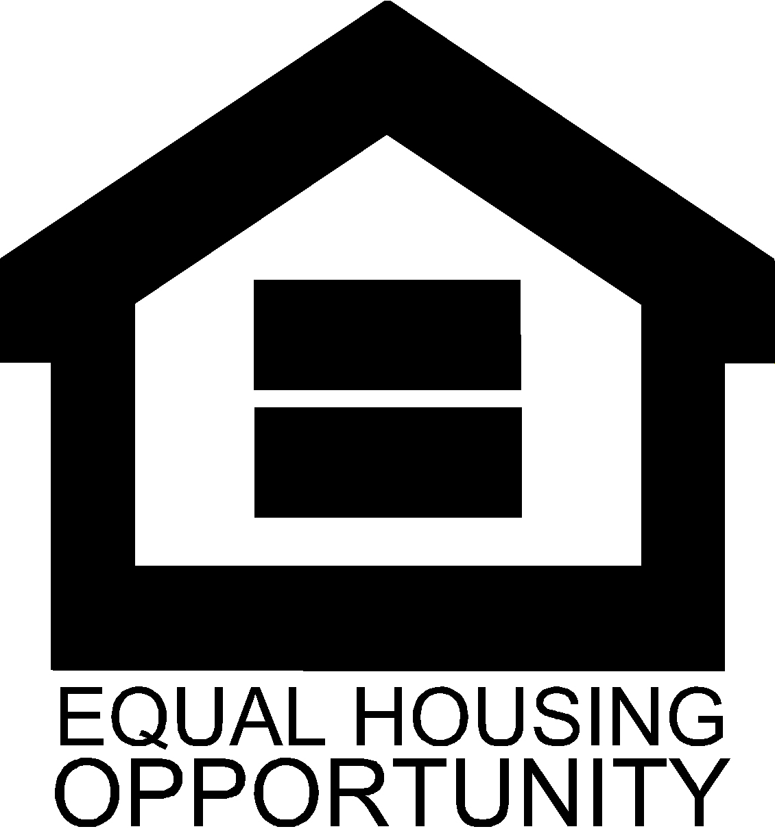 Equal Housing Opportunity - Black